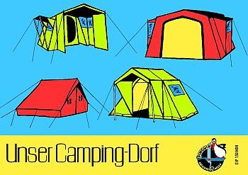 Unser Camping-Dorf